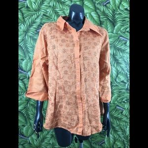 Exclusive By Sherry Taylor Plus Size 2X Blouse
